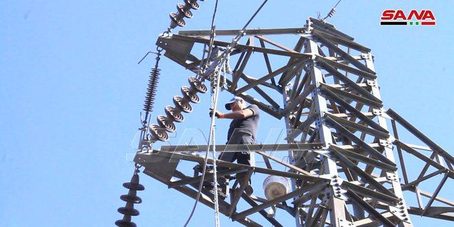 В Тартусе устранены неисправности электросетей, возникшие после пожаров (фото)