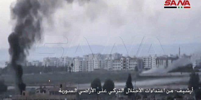 В провинции Ракка из-за турецкой агрессии в районе Айн-Иса сотни семей покинули свои дома