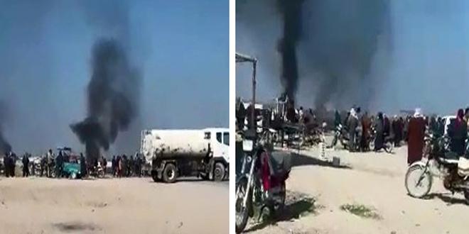В провинции Хасаке жители провели акццию протеста против действий группировок «Касад»