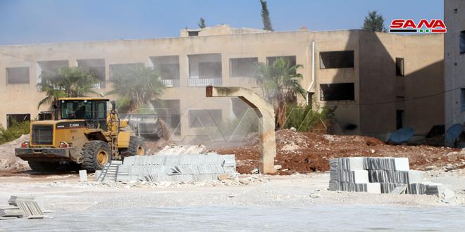 В провинции Дараа восстановлено 147 поврежденных терроризмом школ