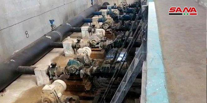 Турецкие оккупанты и их наемники вновь перекрыли питьевую воду жителям Хасаке