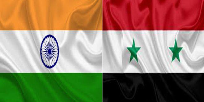 Сирийско-индийские отношения подкреплены позицией двух стран в борьбе с терроризмом