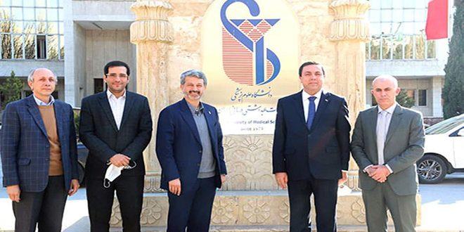 Обсуждены пути расширения сотрудничества между медцентрами Сирии и Ирана