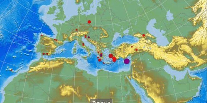 На острове Кипр произошло землетрясение, которое почувствовали жители Латакии, Хомса, Тартуса и Дамаска