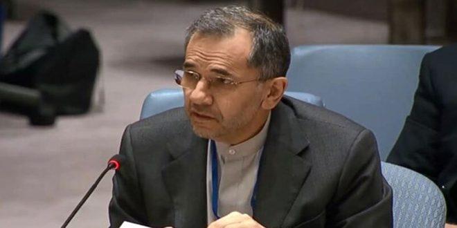 Постпред ИРИ при ООН: Введенные в отношении Сирии санкции являются незаконными