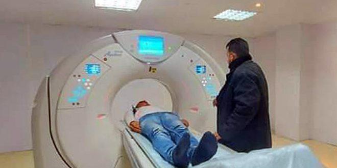В больнице «Тафас» провинции Дараа восстановили компьютерный томограф