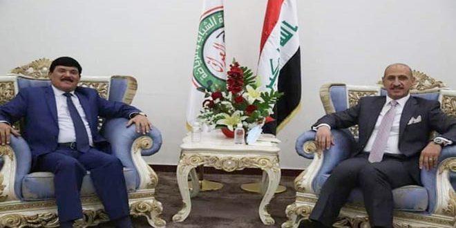 Сирия и Ирак обсудили активизацию меморандумов и соглашений в области молодежи и спорта