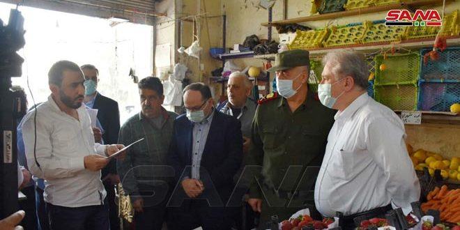 Администрация города Хомс приступила к выполнению указа о защите прав потребителей