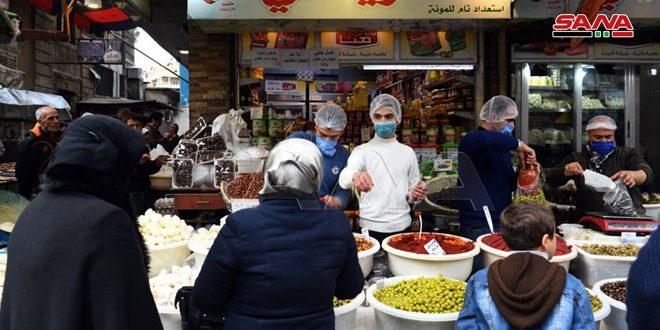Движение на рынках провинций накануне священного месяца Рамадан