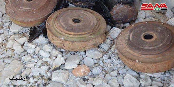 В Тадморе насмерть подорвались на мине два мирных жителя
