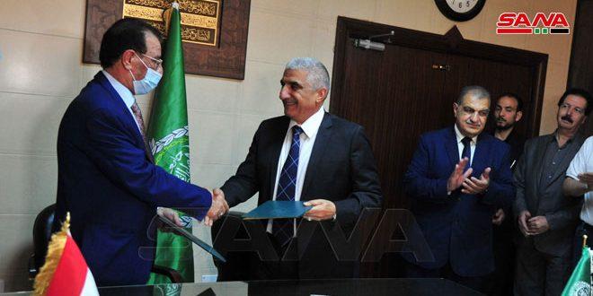 Соглашение о сотрудничестве между ACSAD и министерством сельского хозяйства Ирака