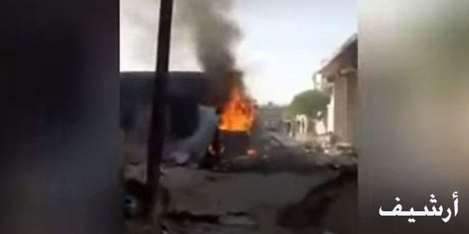 В результате взрыва в городе Эль-Баб провинции Алеппо пострадал мирный жители и несколько турецких наемников