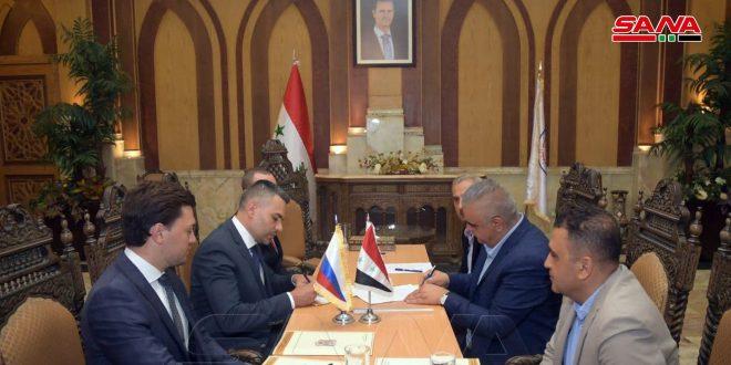 В Алеппо подписан меморандум о взаимопонимании для активизации авиасообщения между Сирией и Россией