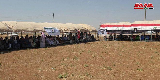 Арабские племена в Эль-Камышли отпраздновали годовщину Сирийской Арабской армии