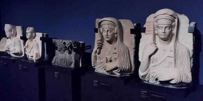 В китайском городе Шэньчжэнь продолжается выставка древних сирийских экспонатов