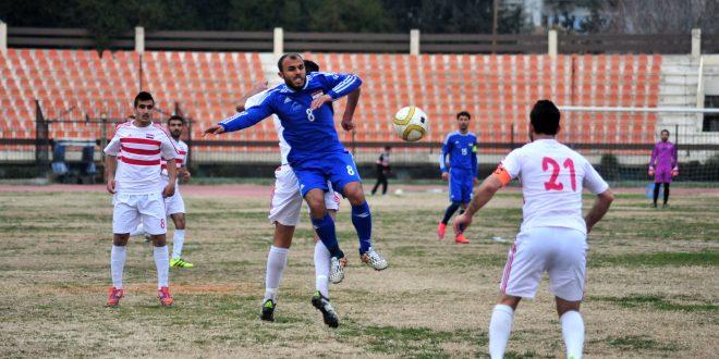 Futbol liginde Şırta Muhafaza yı 2-1 mağlup etti