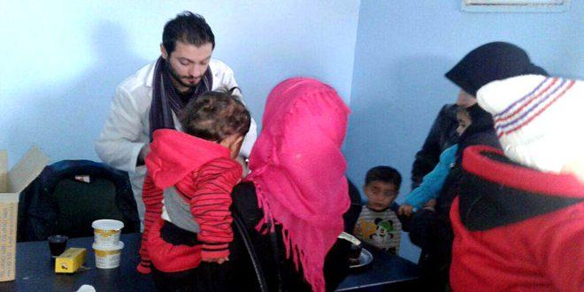 Süveyda da Üç Çocuk Muayenehanesi Açıldı