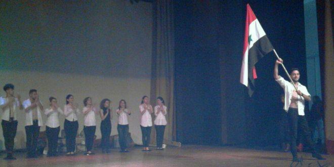 Süveyda Gençlik Birliği Halep Zaferi münasebetiyle sanatsal faaliyetler düzenliyor