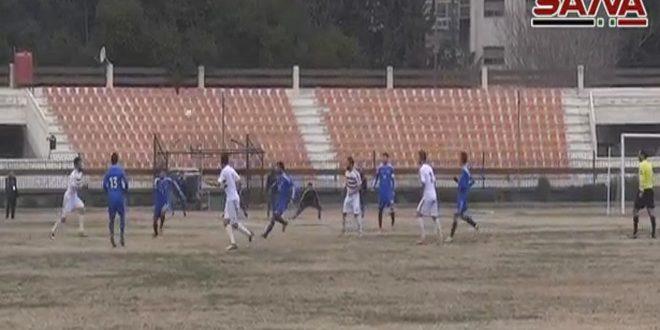 Şırta ve Muhafaza arasındaki futbol maçında heyecanlı anlar yaşandı