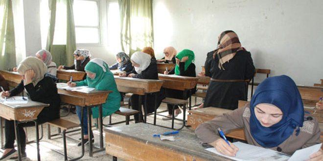 Suriye Filistinli mültecilerin güvenli sınava girmesini sağladı