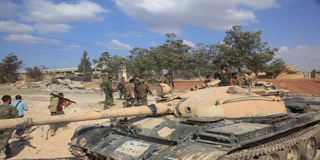 Suriye ordusu IŞİD ve Nusra'ya karşı yeni zaferler kazandı