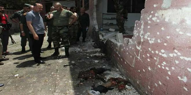 Hama Terminalinde Bombalı Eylem