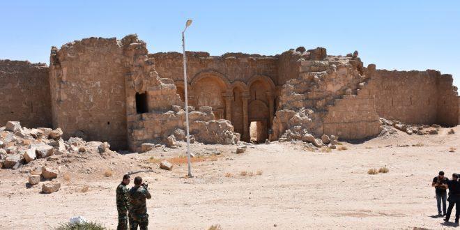 Rakka Kırsalında IŞİD'ten Kurtarılan Rassafa Böglesi