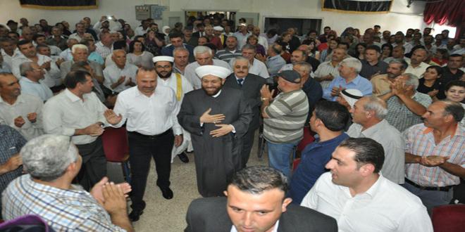 Hassun Hama ve Kırsalında Dini ve Sosyal Faaliyetlerle Bir Araya Geldi