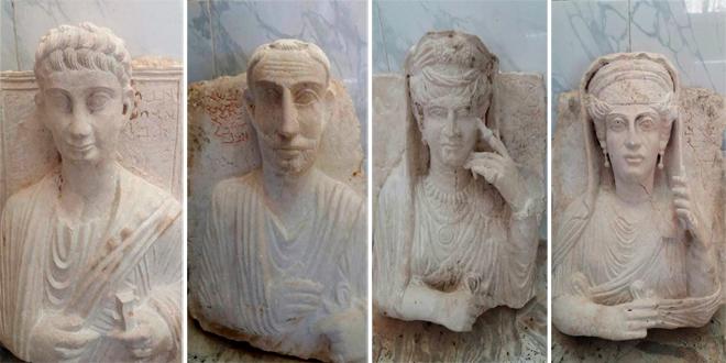 IŞİD Karargahında Çalıntı Tarihi Eser Bulundu