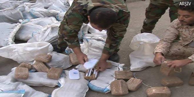 İslamcı teröristler 115 kg esrarla yakalandı