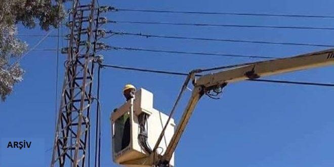 Haseke'deki Ebu Rasin Beldesi Yeniden Elektrik'te Kavuştu
