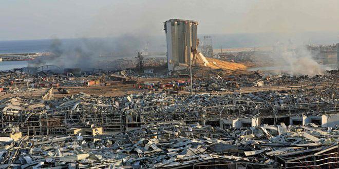Lübnan Yargısı Beyrut Limanı Patlamasıyla İilgili Soruşturma Kapsamında 19 Kişiyi Tutukladı