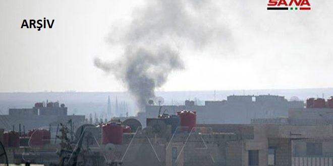 İşgalci Türk Güçleri ve Kiralıkları Ebu Rasin Bölgesine Füzelerle Saldırdı