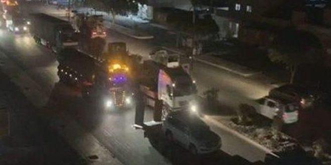Amerikan İşgali, Çalınan Suriye Petrolünü Taşıyan Bir Konvoyu Haseke'dan Irak Topraklarına Kaçırdı