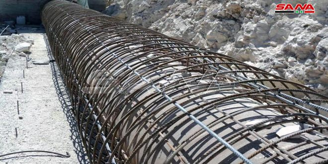 Su Projeleri Şirketi'nin Homs'ta 9 Ayda Gerçekleştirdiği Çalışmaların Değeri Yaklaşık 977 Milyon SL