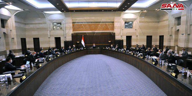 Başkan El Esad'ın Direktiflerinin Uygulanmasında… Kabine Yangınlardan Etkilenenleri Telafi Etmek İçin Entegre Planı Onayladı