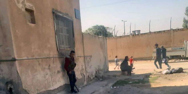 DSG Milisleri Haseke'deki Masaken Şurta Mahallesinin Ahalilerine Saldırıyor