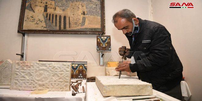 Eski Halep'te Rozana El Sanatları ve El İşleri Fuarı Açıldı