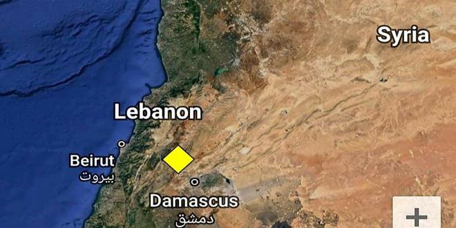 Şam Şehrinde Orta Dereceli Bir Deprem Meydana Geldi
