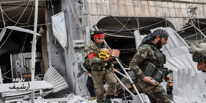 Türk İşgalinin Kiralık Teröristleri Haseke Kırsalında Sivillere Ait Bir Dizi Evi Yaktı