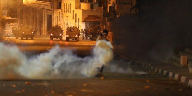 İşgalci İsrail Güçleri Tubas Kentine Zehirli Gaz Bombalarıyla Saldırdı