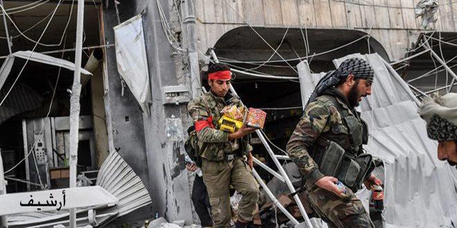 Türk İşgalinin Kiralıkları Rasul Ayn'da Birçok Mağazalara El Koydu