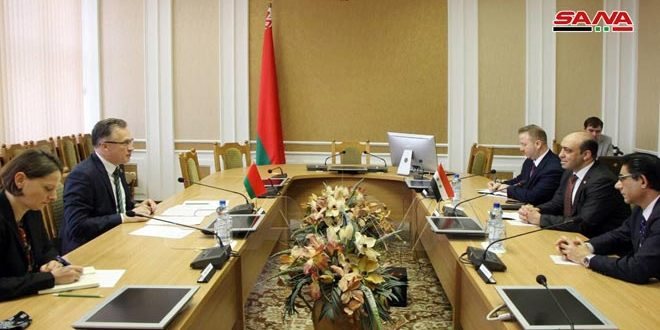 Belarus reaffirms its support for Syria in preserving its sovereignty and territorial