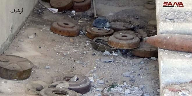 Death of a child and wounding of three civilians as result of mine explosion in East Salamiyah