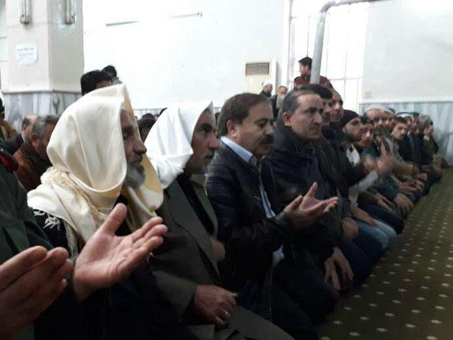 prayer-rain-Hasaka 1 – Syrian Arab News Agency