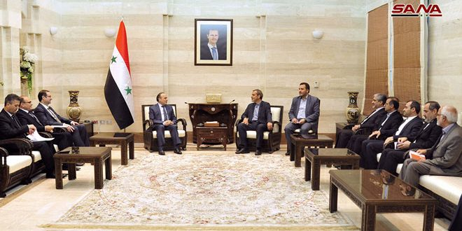 Prime Minister calls on Iranian companies to invest in Syria