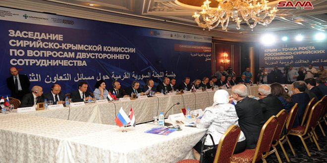 Syria, Crimea discuss enhancing economic and trade cooperation