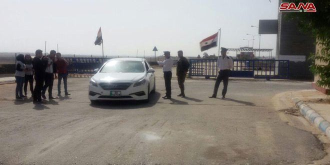 Nassib-Jaber border crossing with Jordan re-opened for persons and vehicles
