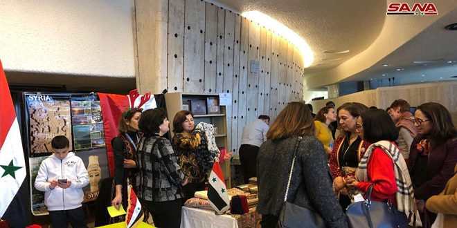Annual Charity Bazaar opens in Geneva with Syria's participation