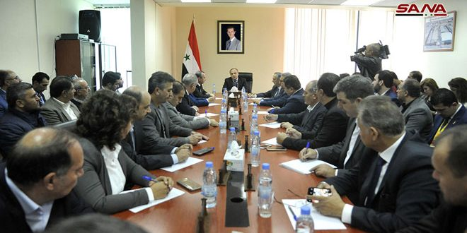 Khamis: The government determined to offer support for the return of industrial facilities